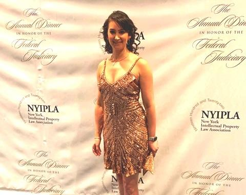 Michele Katz at the Patent Prom in NYC